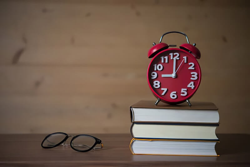 Decide the time to study also helps you to concentrate when studying