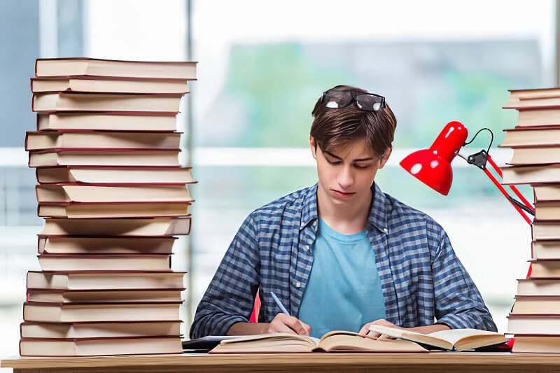 Read the hard subject first to concentrate better