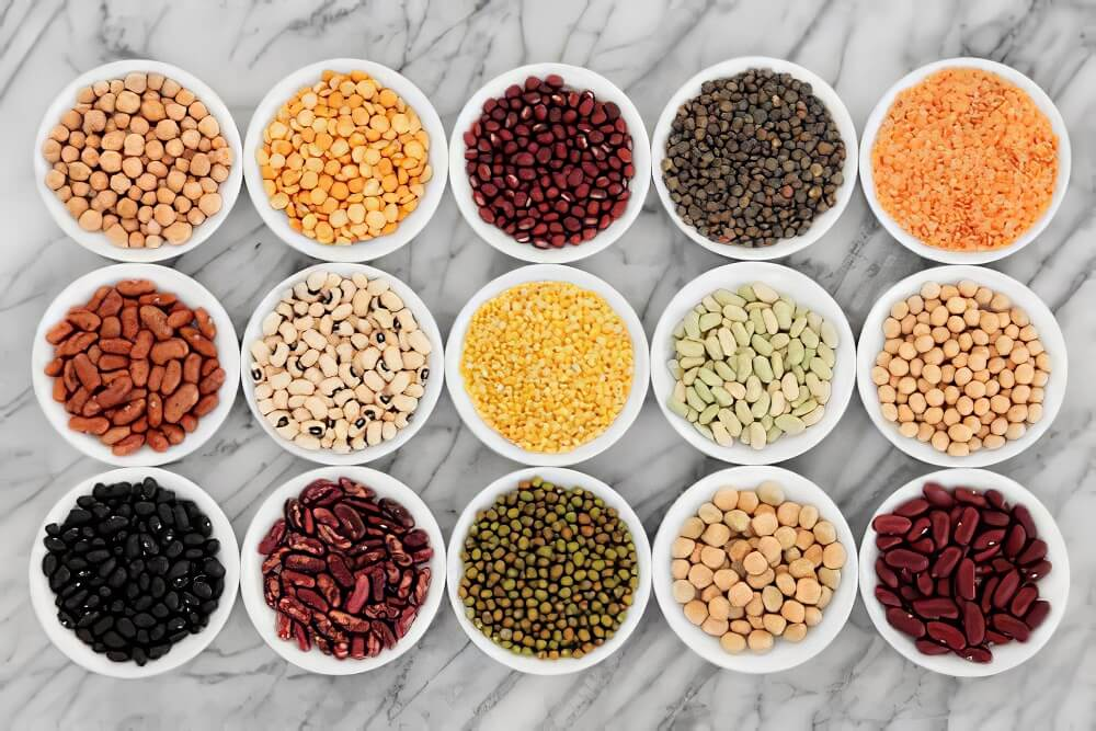Soybeans and pulses to reduce cholesterol