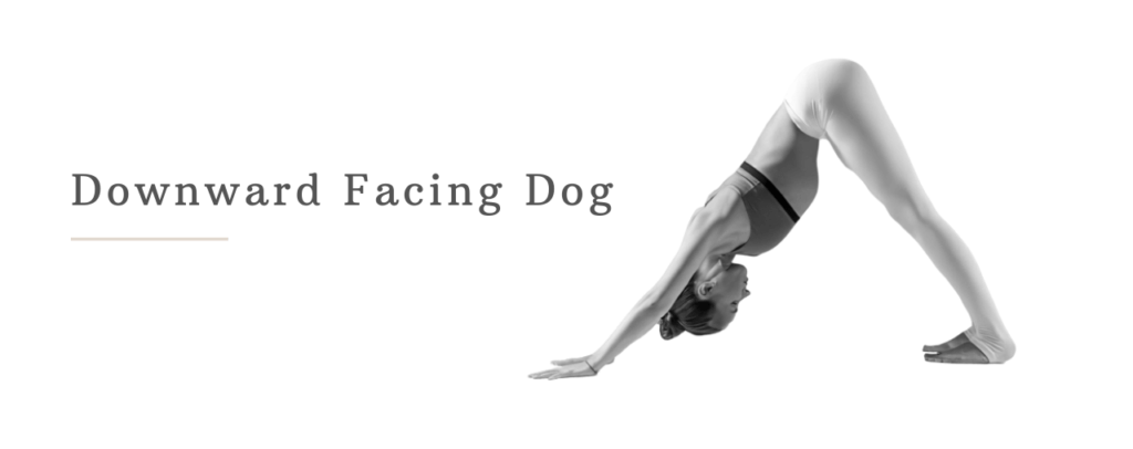 Downward facing dog to lose belly fat