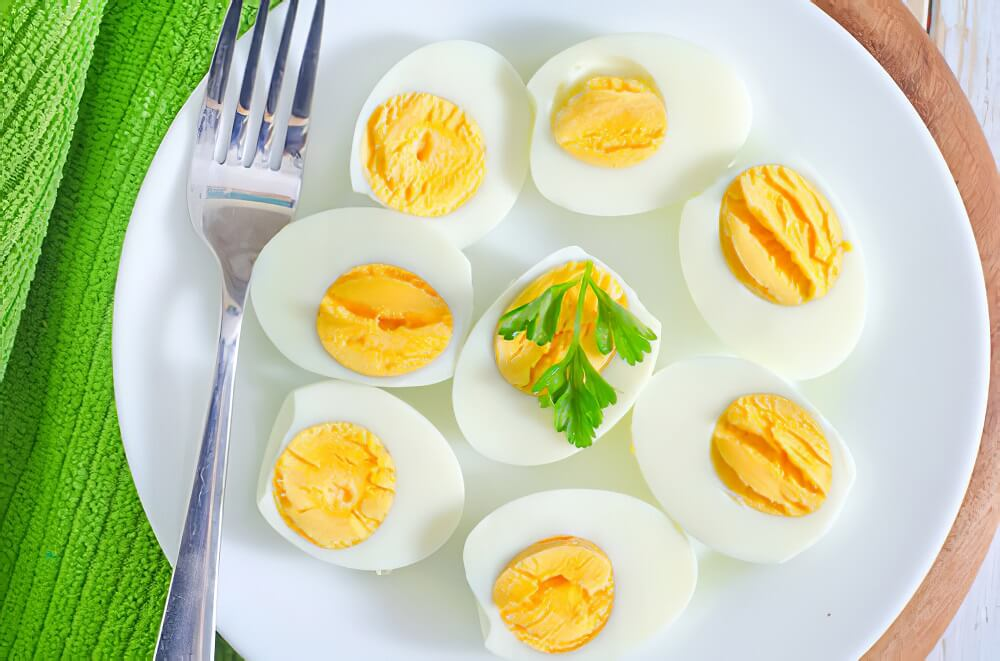Eggs to lose belly fat
