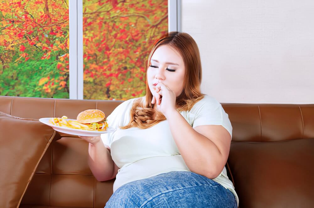Hormone change causes belly fat