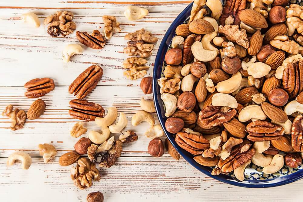 Nuts to lose belly fat