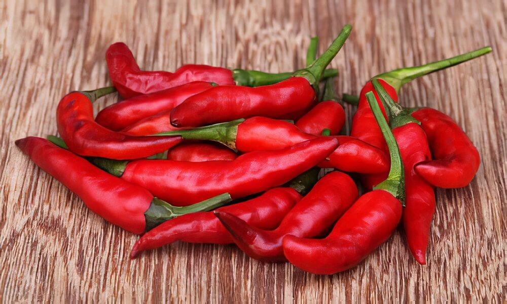 Red chili to lose belly fat
