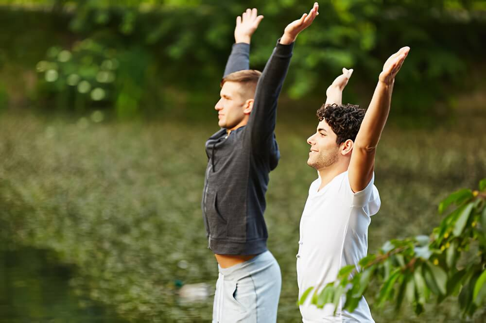 Exercise regularly to minimize or control weight gain