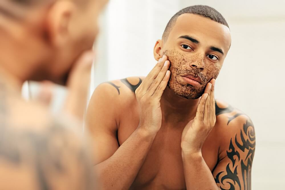 Exfoliate your face skin at least once a week to grow beard