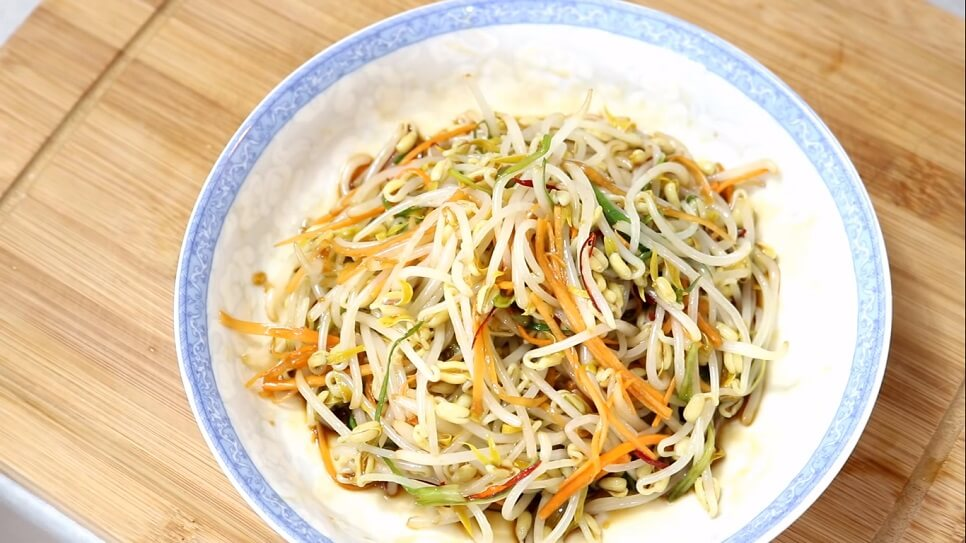 Bean sprout salad recipe