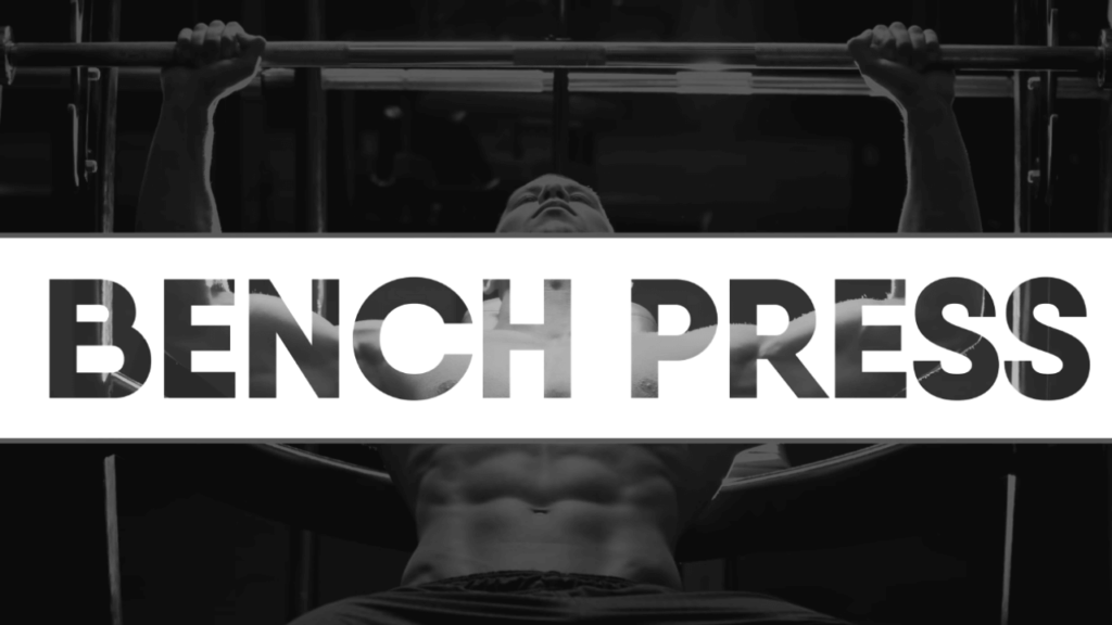 Bench press to reduce chest fat