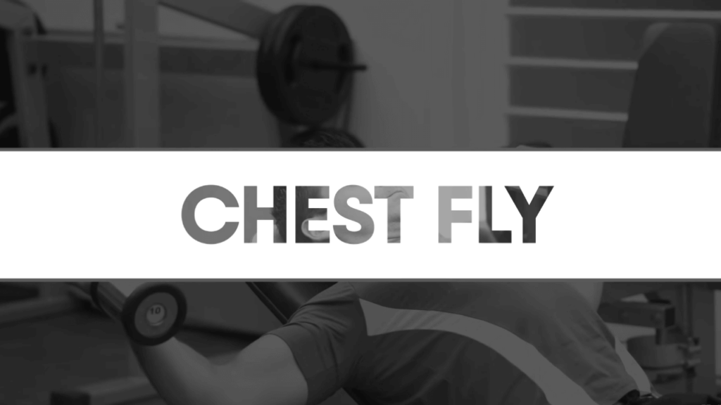Chest fly to reduce chest fat