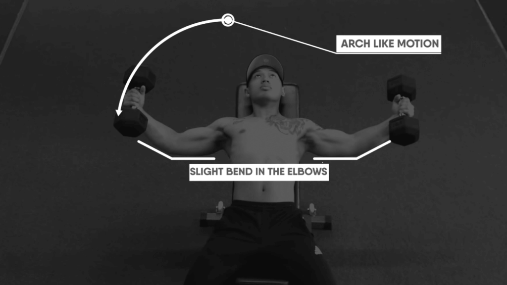chest fly steps
