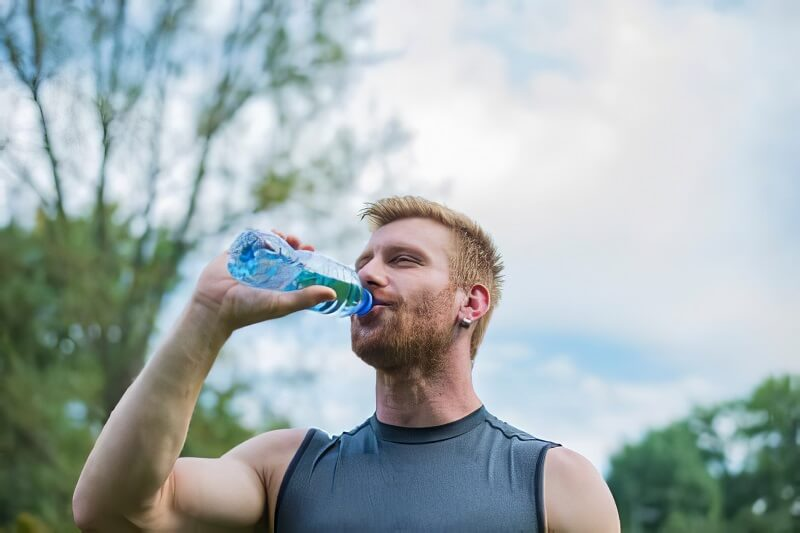 Stay Hydrated to Get Rid of Arm Fat