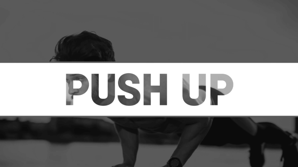push up to reduce chest fat