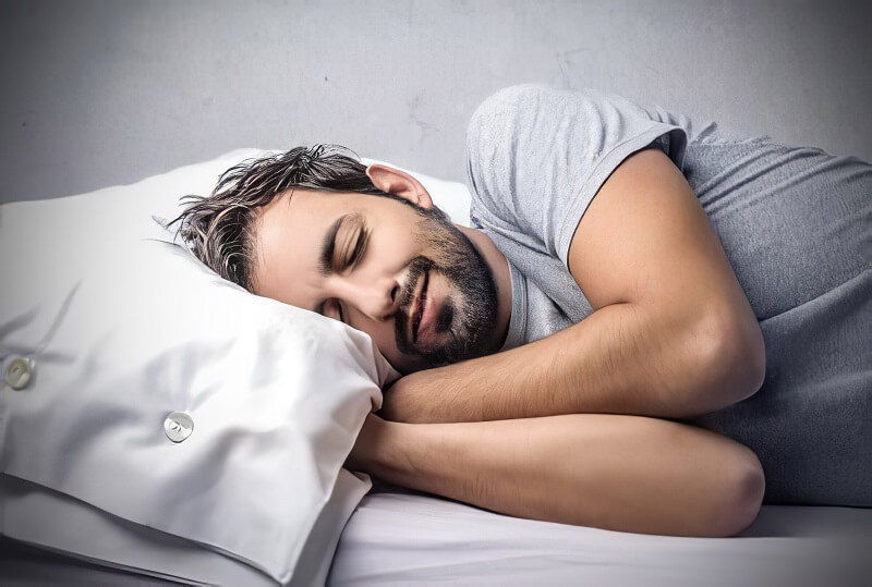 get enough sleep to lose back fat