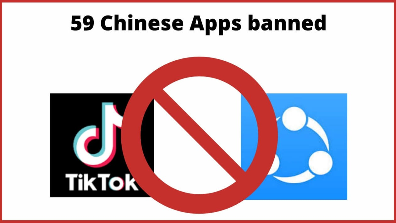 Chinese app list ban in india