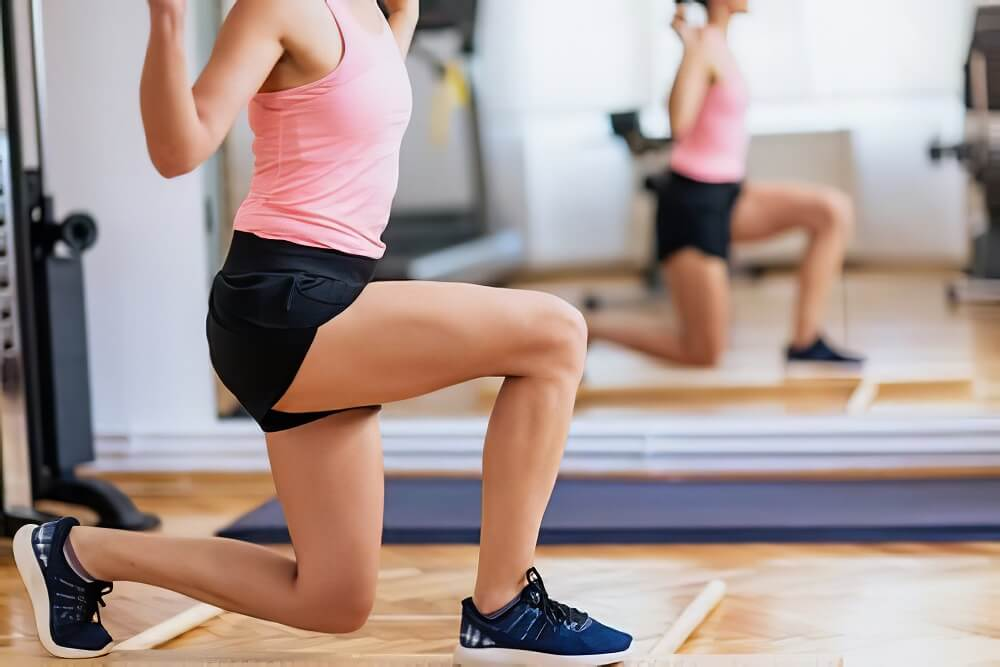 exercise to get rid of lower belly fat for women