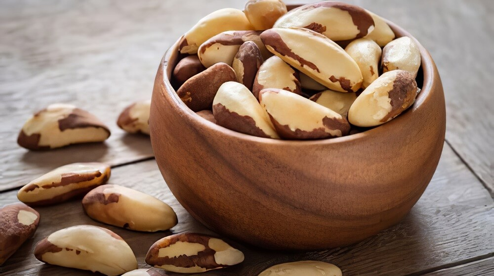 Brazil Nuts (helps in making your skin glow in no time)