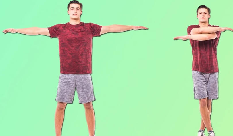 Cross Jack exercise to lose inner thigh fat