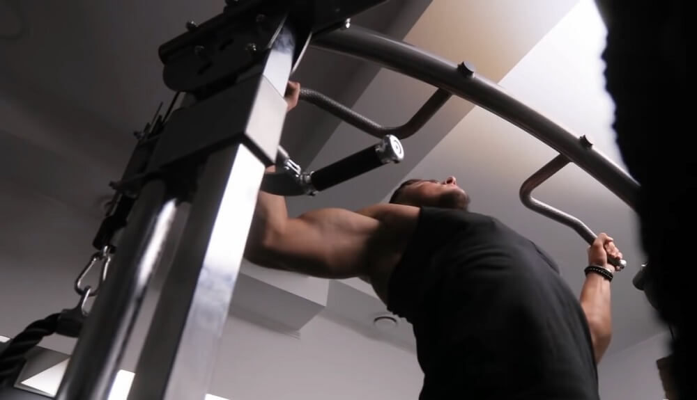 Doing pull-ups regularly you will become stronger