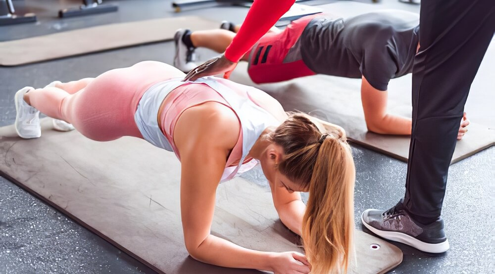 Planks help you with Get Rid of Back Pain