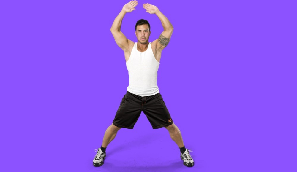 Jumping Jacks exercise for great calf muscles