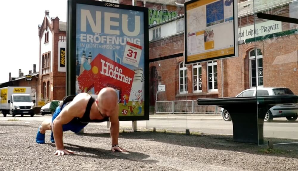 Greasing the Groove Method to Increase Push-Ups