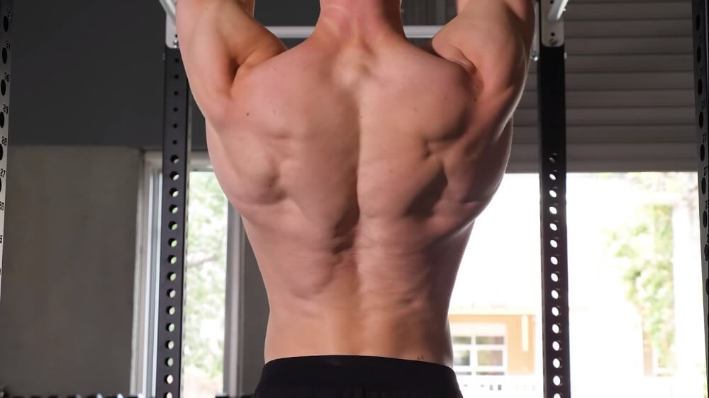 scapular engage technique to pull up correctly