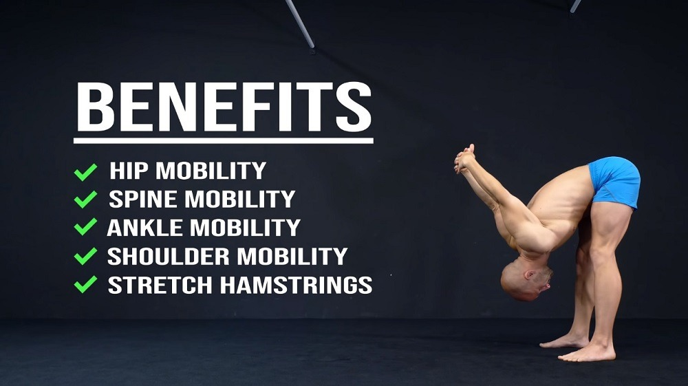 benefits of doing Shoulder-Squat stretches in the morning