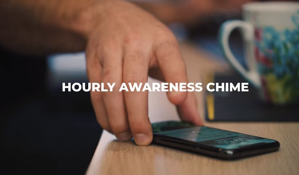 hourly awareness chime using a timer
